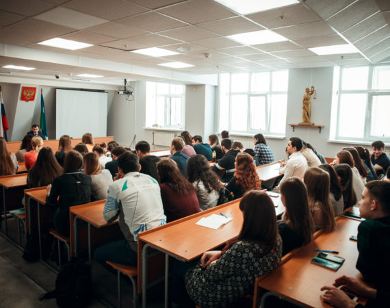 Состоялась встреча Альшевского Михаила Юрьевича со студентами Сургутского государственного университета